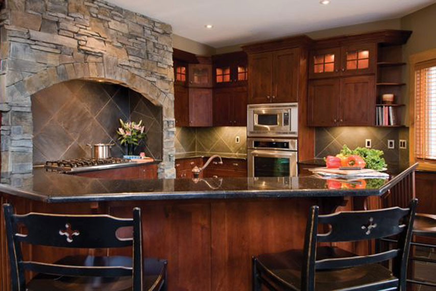 Example kitchen photo.
